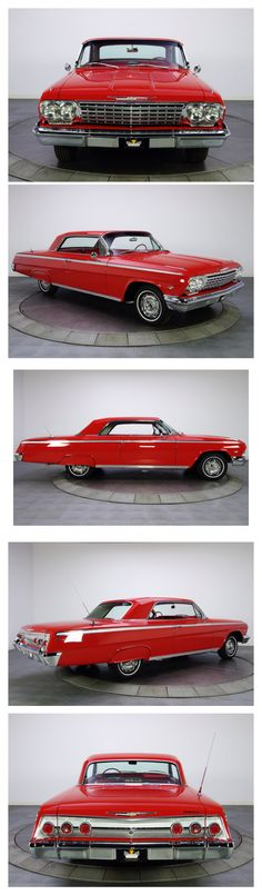 1962 Chevy Impala SS 2 door hardtop BEAUTIFUL! (remove the tire cover over back wheel well)