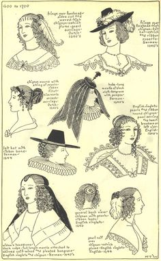17th century hats and hairstyles photo 17thcenturyhats10.jpg