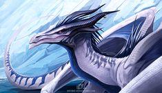 Astheris Gwelwen by IrenBee on DeviantArt Dragon Z, Dragon King, Dragon Games, Fantasy Dragon, Fantasy Creatures, Mythical Creatures, Legendary Dragons, Dragon Artwork, Dragon Drawings