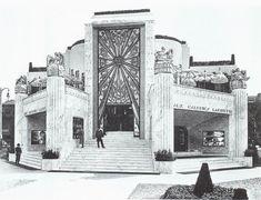 La Maîtrise Pavillon for Galeries Lafayette at the Exposition internationale des arts décoratifs et industriels modernes in 1925