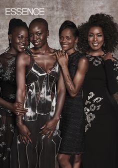 """Welcome ToWakanda: The Stars Of 'Black Panther' Cover ESSENCE's March 2018 Issue   The stars of the Marvel film talk about creating a world untouched by colonization.""""Black Panther's"""" cast and creatives expound on the free and un-colonized world of Wakanda."""