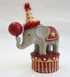 circus elephant - (Although, I am against circus animals in general as animals deserve a better life..)