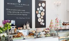 Bobbette & Belle. Toronto. Great macarons and sweet treats. Lovely place to enjoy a coffee or cup of tea with your pastries!