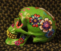 One of a Kind  Custom Painted Day of the Dead