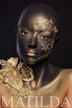 MATILDA artistic makeup #beauty