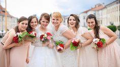 bridesmaids Bridesmaids, Bridesmaid Dresses, Wedding Dresses, Weddings, Fashion, Bridesmade Dresses, Bride Dresses, Moda, Bridal Gowns