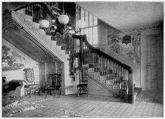 Whipple Ladd House Interior 1917