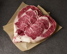 Perfect for Valentine's Day, Lobel's Sweetheart Steaks are  a 20-ounce USDA Prime Dry-Aged Boneless Strip Steak or Boneless Rib Steak—your choice—butterflied into the shape of a heart. Available exclusively from Lobel's of New York online butcher shop. Shipped fresh—never frozen—nationwide via overnight service. <3