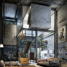 Visions of an Industrial Age // Interior
