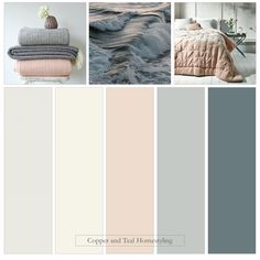 De Nimes and pink Scandi style Warm Bedroom Colors, Bedroom Colour Palette, Bedroom Color Schemes, Colour Pallete, Warm Colors, Colours, Bathroom Colour Schemes Warm, Colour Schemes For Living Room Warm, Lounge Colour Schemes
