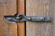 Metal Projects, Welding Projects, Metal Crafts, Barn Door Latch, Door Latches, Gate Latch, Patio Door Handle, Blacksmith Forge, Welding And Fabrication