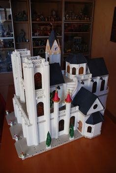Playmobil cathedral.  Oh my!  I think I'm crying
