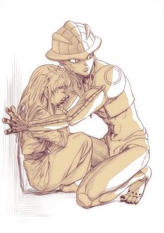 Meruem and Komugi Hunter x Hunter (favorite art)