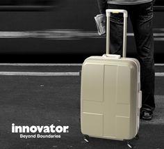 innovatorスーツケース 新色「シャンパンゴールド」をリリースしました。