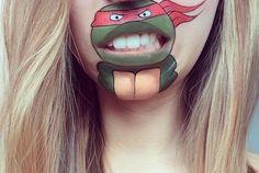 Teenage Mutant Ninja Turtles mouth