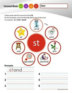 """Free: """"S"""" Family Clusters sm/sk/sp/st  (#4 of 4 Phonemic Awareness Sorts) - Free"""