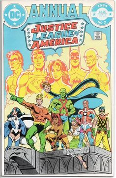 Justice League Of America Annual #2 / 1st App. Vibe Gypsy Steel / DC Comics JLA / Selling Now!!!