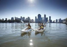 Discover Brisbane from Water Kayaking with River Life http://www.queenslandholidays.com.au/things-to-see-and-do/riverlife-adventure-centre-brisbane-outdoor-activities/index.cfm #thisisqueensland