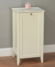 Take A Look At This Antique White Hamper Cabinet On Zulily Today! Tilt Out  ...