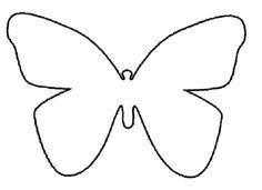 Butterfly pattern.
