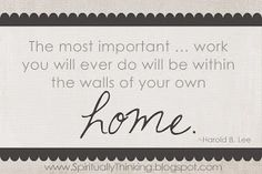 ....and Spiritually Speaking: Home