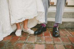intimate wedding photography, nontraditional wedding photos, toms wedding shoes