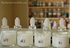 Natural Preservatives for Homemade Lotion (An Experiment) – The Nerdy Farm Wife