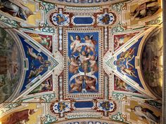 Ceiling_photo-Fotografiado en el Museo del Vaticano. PONT MAX Sixto V ANNO IIII