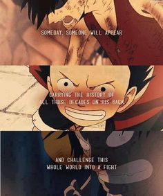 Luffy -the will of D. -one piece