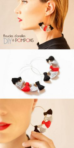 DIY Tassel EarringsCustomize these cheap and easy to make DIY...