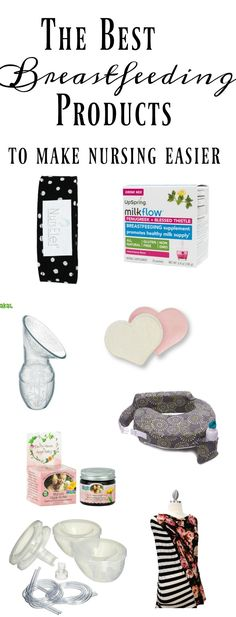 The BEST breastfeeding products to help making nursing easier and more enjoyable.  via @clarkscondensed