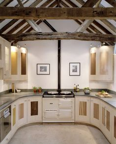 Kitchen from grand designs (Victorian threshing barn)