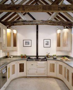 Kitchen from grand designs (Victorian threshing barn)