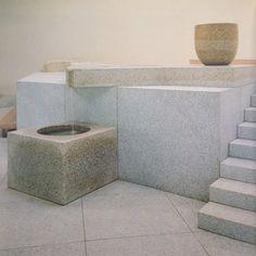 // Isamu Noguchi Isamu Noguchi, Terracotta, Glass Installation, Home Living, Modern Living, Minimalist Interior, Architecture Details, Landscape Architecture, Color Inspiration
