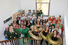 6th Form Christmas Lunch Dress Up 12 Days of Christmas