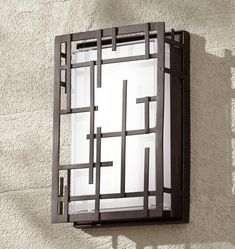 Modern Lines 9 High Bronze LED Outdoor Wall Light is a quality Sconces for your home decor ideas. Outdoor Wall Light Fixtures, Led Outdoor Wall Lights, Outdoor Walls, Outdoor Lighting, Lighting Ideas, Best Bathroom Lighting, Wall Sconce Lighting, Bathroom Sconces, Modern Window Grill