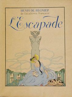 [BARBIER] Mirages. Baronne A. De Brimont. Illustrations de BARBIER George. Emile Paul Freres. 1919