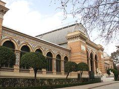 Palacio de Velazquez (Madrid) España.