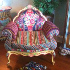 Amazing MacKenzie Childs Chair