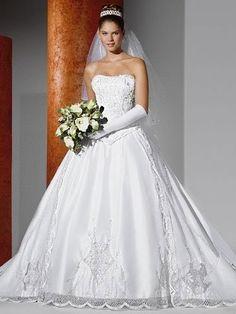 Resultado de imagem para vestido de noiva tipo princesa 2016