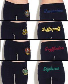 Hogwarts House Yoga Pant by Hanavas $35.00.