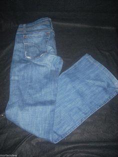WOMENS JOES JEANS BLUE JEANS PANTS SIZE 27 MUSE BOOT CUT HARVEY  #JoesJeans #BootCut
