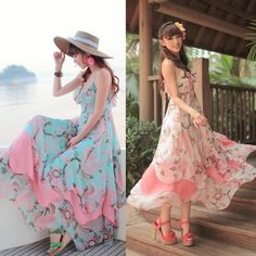 Multilayered Bohemia dress