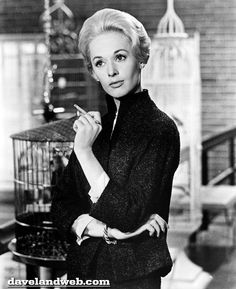 Tippi Hedren in The birds directed by Alfred Hitchcock, 1963 film, vintage Alfred Hitchcock, Tippi Hedren, Classic Hollywood, Old Hollywood, The Birds Movie, Chef D Oeuvre, Classic Films, Old Movies, Movie Stars