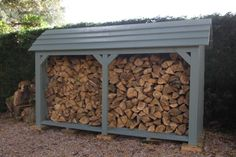 Wooden Log Store - By Touch Wood: Amazon.co.uk: Kitchen & Home