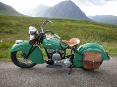 This is the one I want, it's amazing! Love everything about it, especially the colour! vintage Indian Motorcycle