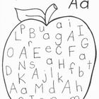 8 Pages of APPLE Printables! For ages approx. 3-7 yrs.  This pack has: Printing Practise for Letter Aa, and Writing the word apple. Alphabet Dot-to...
