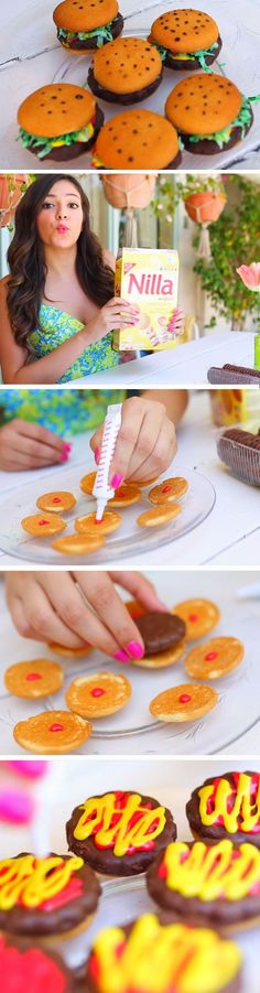 Hamburger Treats   9 DIY Summer Backyard Party Ideas for Kids that will get the party started!
