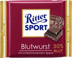 """In Cologne wie call it """"Ritter Sport Flönz"""" Meat Love, Comedy Comics, Food Cartoon, Silly Jokes, Pumpkin Spice Cupcakes, Bear Cakes, Holiday Cocktails, Sports Humor, Derp"""
