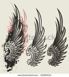 stock-vector-wings-183958454.jpg (421×470)